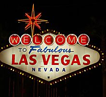 THE Las Vegas Sign by WestCoastEden