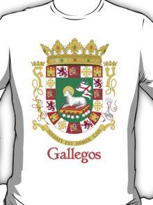 Gallegos Shield of Puerto Rico T-Shirt