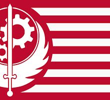 Brotherhood of Steel Flag by Alfa-Squad