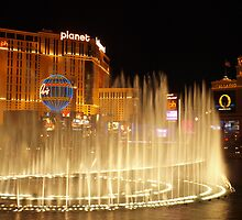 Bellagio Hotel Fountains 3 by WestCoastEden