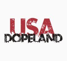 Dope Land USA1 One Piece - Short Sleeve