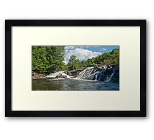 Raquette River - Waterfall and Rapids Framed Print