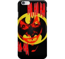 joker and batman iPhone Case/Skin