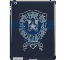 Rogers Boxing Gym 2 on Navy iPad Case/Skin