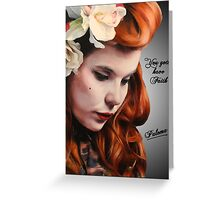 Paloma Faith Greeting Card