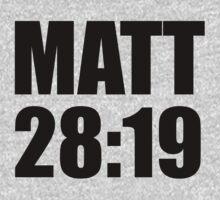 Matthew 28:19 Kids Tee