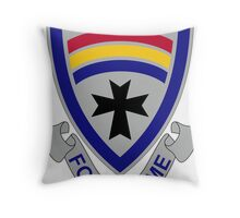 166th Infantry Regiment - Follow Me Throw Pillow