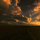 Sunset Panoramic by Nigel Bangert