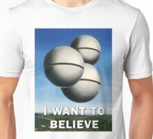 Magritte - I Want To Believe Unisex T-Shirt