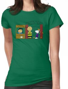 Charlie Brown and the Chocolate Factory Womens Fitted T-Shirt