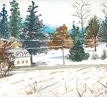 Greenspring Valley in Winter by amiradance