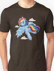 Rainbow Dash Flyin High T-Shirt