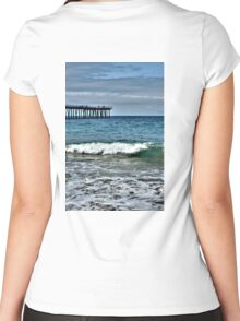 Hermosa Beach Surf Women's Fitted Scoop T-Shirt