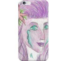 Purple Mermaid iPhone Case/Skin