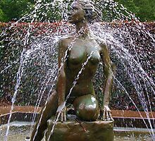 Statue in the Fountain by lezvee