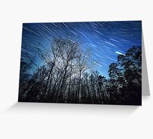 Alabama Night Sky Greeting Card