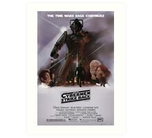 Time Wars - The Cybermen Strike Back Art Print