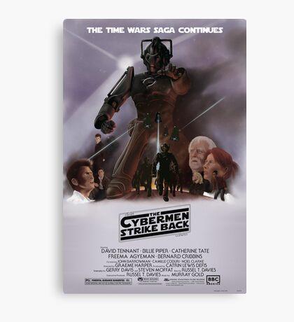 Time Wars - The Cybermen Strike Back Canvas Print