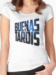 Buenas Tardis Women's Fitted Scoop T-Shirt