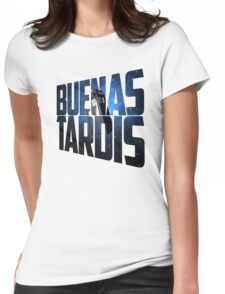 Buenas Tardis Womens Fitted T-Shirt