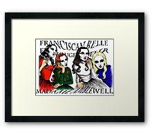 Franciscan Belle sisters Framed Print