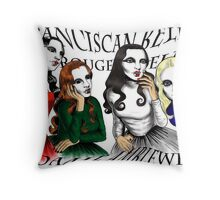 Franciscan Belle sisters Throw Pillow