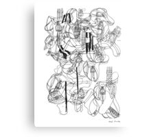 LINE : 100 <Inspiration from House.> Canvas Print