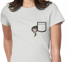 Hanging Lara.. Womens Fitted T-Shirt