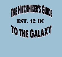 Hitchhiker's Guide! Womens Fitted T-Shirt