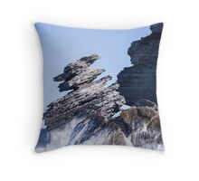 Beecroft Peninsula Rock Formation Throw Pillow