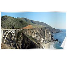 Highway One, Big Sur, California Poster