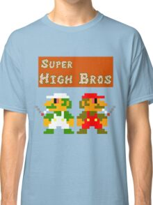 Super High Bros! Classic T-Shirt