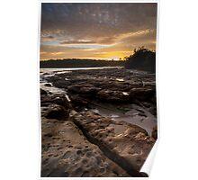 Bosum Beach Sunrise Poster