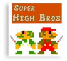 Super High Bros! Canvas Print