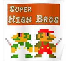 Super High Bros! Poster