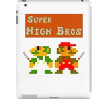 Super High Bros! iPad Case/Skin