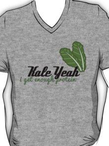 {Veg-Friendly T-Shirt} - Kale Yeah I Get Enough Protein T-Shirt