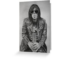 Dave Wyndorf of MONSTER MAGNET Greeting Card