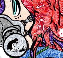 Steam Punk doodle Sticker