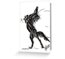 Horse Freedom Greeting Card