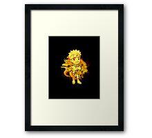 Cute Naruto - Chibilette Framed Print
