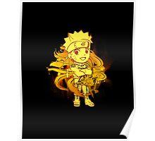 Cute Naruto - Chibilette Poster
