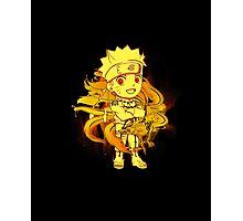 Cute Naruto - Chibilette Photographic Print