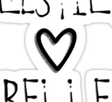 Rumplestiltskin and Belle Sticker