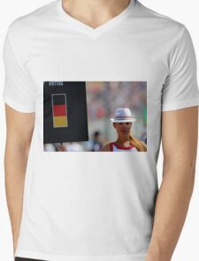 Pit girl Mens V-Neck T-Shirt