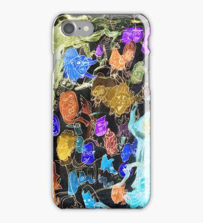 Island Of Spirit Weirdos iPhone Case/Skin