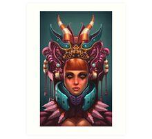 Rashah Queen Portrait Art Print