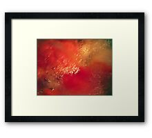 ©NS 100 celsius Abstract IA Framed Print