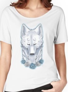 purrty arctic wolfie Women's Relaxed Fit T-Shirt