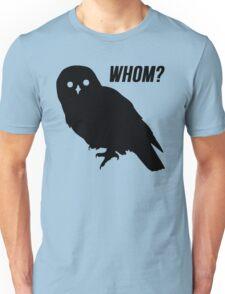 Whom? Grammar Police T-Shirt